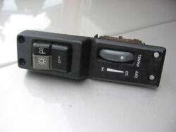 84 85 86 87 88 Fiero Gt Interior Dash Headlight And Dimmer Switch Factory Nice