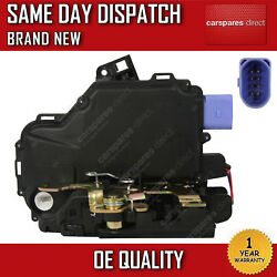 VW TRANSPORTER T5  T6 2003ON FRONT RIGHT DOOR LOCK ACTUATOR 8 PIN BRAND NEW