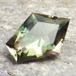 Peacock-mint Green Oregon Sunstone 6.43ct Flawless-very Rare Color-investment