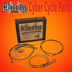 Burly Brand 16 Non-abs Handlebar Cable Install Kit For Single Disc B30-1014