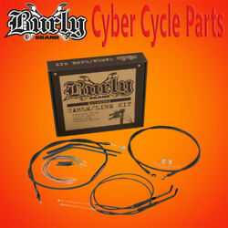 Burly Brand 16 Non-abs Handlebar Cable Install Kit For Single Disc B30-1038