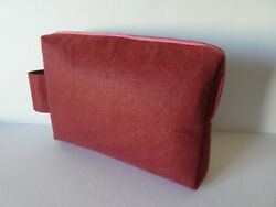 Felt cosmetic bag for woman Large Makeup Bag made from felt Travel Pouch