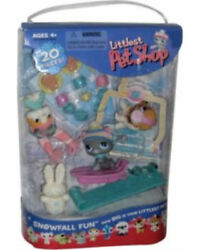 Littlest Pet Shop Snowfall Winter Snow Fun Playset Toy Figure Set 127