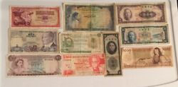 Old Foreign Currency Lot Rare