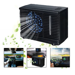 Mini Evaporative Air Conditioner Home Car Water Cooler Cooling Fan Portable 12v