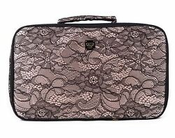 PurseN Amour Travel Beauty Case Toiletry Bag Cosmetics Organizer Chantilly Lace