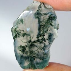 Best Offer 100 Natural Moss Agate Rough Slab Cabochon Material For Gemstone