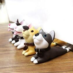 Creative Cute Dog Pig Plastic Child Baby Safety Door Wedge Stopper Home Decor