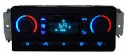 CHEVY GM GMC HVAC CLIMATE TEMP CONTROL LED COLOR UPGRADE KIT