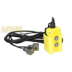 4 Wire Dump Trailer Remote Control Switch For Double-acting Hydraulic Pumps 12v
