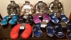 Nfl Neck Pillows Still In Cases Brand New Memory Many Teams