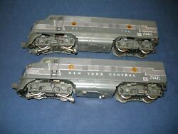 Lionel 2344 Nyc F3 Aa C7 Excellent Condition With One Power Ob