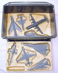 Us Army Cold War 8x Russian Aircraft Resin Model Military Training Kit Unique