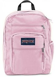 Girls Backpack In Pink Mist Large Size Bookbag For High Middle School College