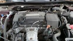 Engine 2.4l Vin 1 6th Digit Coupe California Emissions Fits 13-15 Accord 324432
