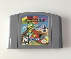 Nintendo 64 N64 Chameleon Twist 2 (GAME CARTRIDGE ONLY)