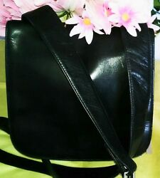 Women's Small Black Leather