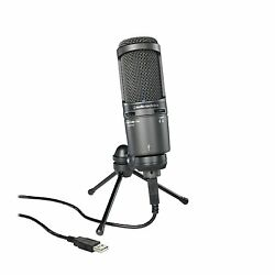 Audio-technica AT2020USB+ USB Condenser Microphone NEW FREE EMS