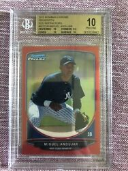 Miguel Andujar 2013 Bowman Chrome Red 1/5 Rookie
