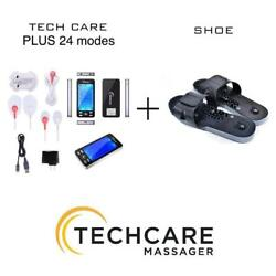Fda Cleared Lifetime Warranty Tens Device Massager Unit Plus 24 Modes With Shoes