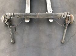 85 86 87 Honda Crx Rear Suspension Tag Axle Beam Assembly Complete Used Oem