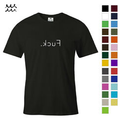 FUCX KCUF FUNNY QUOTE PRINT T SHIRT NOVELTY GRAPHIC SHIRTS IDEA DESIGN TEE GIFT