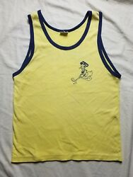 Vtg 60s 70s Donald Duck Golf Game Thin Shirt Mickey Mouse Disney