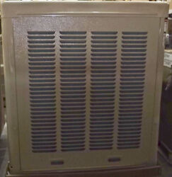 DAYTON 6800 cfm Belt-Drive Ducted Evaporative Cooler with Motor Covers 1400 sq.