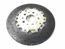 MASERATI GRANTURISMO MC STRADALE REAR BRAKE ROTOR CARBON CERAMIC PART# 272385