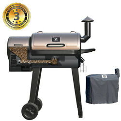 Z Grills Zpg-450a Wood Pellet Grill And Smoker 8 In 1 Bbq Grill Auto Temp Control