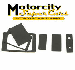 1964-72 Gm Pontiac Olds Chevy Buick A-body Heater Box Seals For Non Ac Cars Nos
