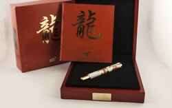 Montblanc Year Of The Golden Dragon 888 Fountain Pen