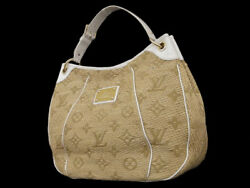 VERY RARE Authentic LOUIS VUITTON only 100 in the world Raffia&Leather Handbag
