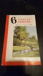 Gravely Walk Behind Tractor Brochure 6 Upkeep Problems About The Country Home