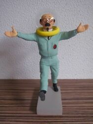 Extremely Rare Tintin Professor Calculus On The Moon Figurine Le Of 1500 Statue