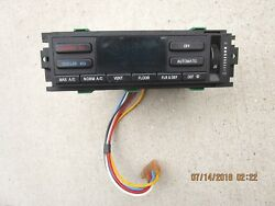 93-94 LINCOLN TOWN CAR A/C HEATER CLIMATE TEMPERATURE CONTROL F5PF-18C612-ABSR