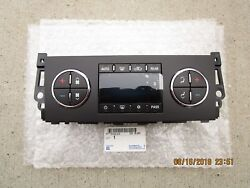 08 - 09 HUMMER H2 A/C HEATER CLIMATE TEMPERATURE CONTROL OEM NEW P/N 20777074
