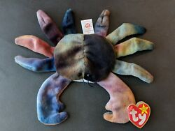 TY Beanie Baby CLAUDE The Crab, VHTF, Retired, Ultra RARE with TAG ERRORS, 1996