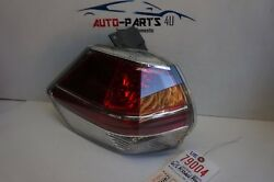 Chipped 2014 2016 Nissan Rogue Left Driver Tail Light Oem 2015 14 15 16 Ue79004