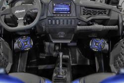 Polaris Rzr Xp Turbo S Ssv Works Complete 4 Speaker Plug-and-play System/stereo