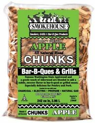 Apple Smokehouse Chunks ~ 1 Case ~ 12 Bags 1.75 Lbs. per Bag ~ Great Buy