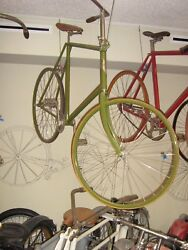 1896 Victor Tall Frame Safety Antique Bicycle Veteran Toc Bicycle