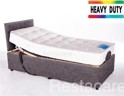 4ft6 Double Adjustable Electric Bed Heavy Duty To 33 Stone Free Install 5yr Wty