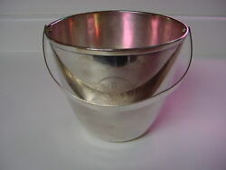 Ss United States Lines Silver Ice-bucket / Usl-52 / Excellent Condition