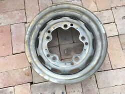 Porsche 356 Wheel 4 1/2 X 15 Kpz Date Stamped 3/57 Fl18 Modified