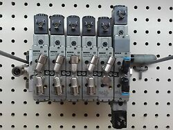 Bosch 0 820 022 991 Air Valves, 1 824 210 243 Solenoids, w/ Manifold as shown