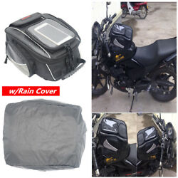 10.5L Magnetic Motorcycle Oil Fuel Tank Bag Riding Racing Travel Luggage Handbag