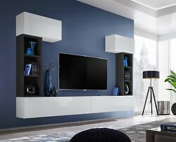 Boise Ii - Modern Entertainment Center / Television Wall Units / Tv Cabinets