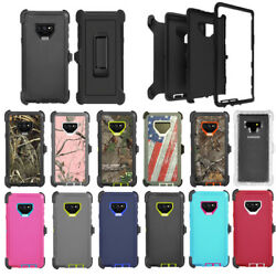 For Samsung Galaxy Note 9 Defender Case Cover with Belt Clip fits Otterbox