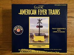 American Flyer By Lionel 49832 582 Blinking Signal, New In Box
